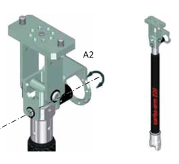IMMAGINE CARBON ARM CON SENSORE SU ASSE A2 Avvitatori per assemblaggio industriale Easy to use and use, the CA carbon arm series is the ideal accessory where ergonomics, flexibility and lightness are required. The special telescopic structure together with the use accessories, also allows the use even in restricted working spaces