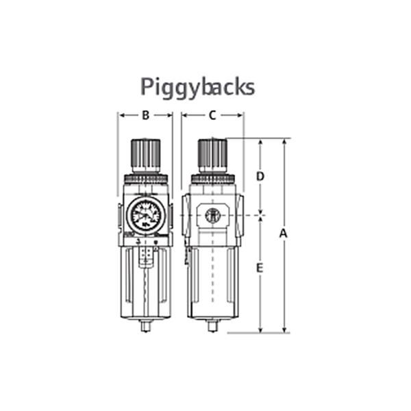 IMMAGINE DIMENSIONI 6  Avvitatori per assemblaggio industriale L'uso di dispositivi di preparazione dell'aria, come filtri, regolatori e lubrificatori è un mezzo eccellente per mantenere i vostri strumenti e le attrezzature per operare al massimo delle loro prestazioni.
