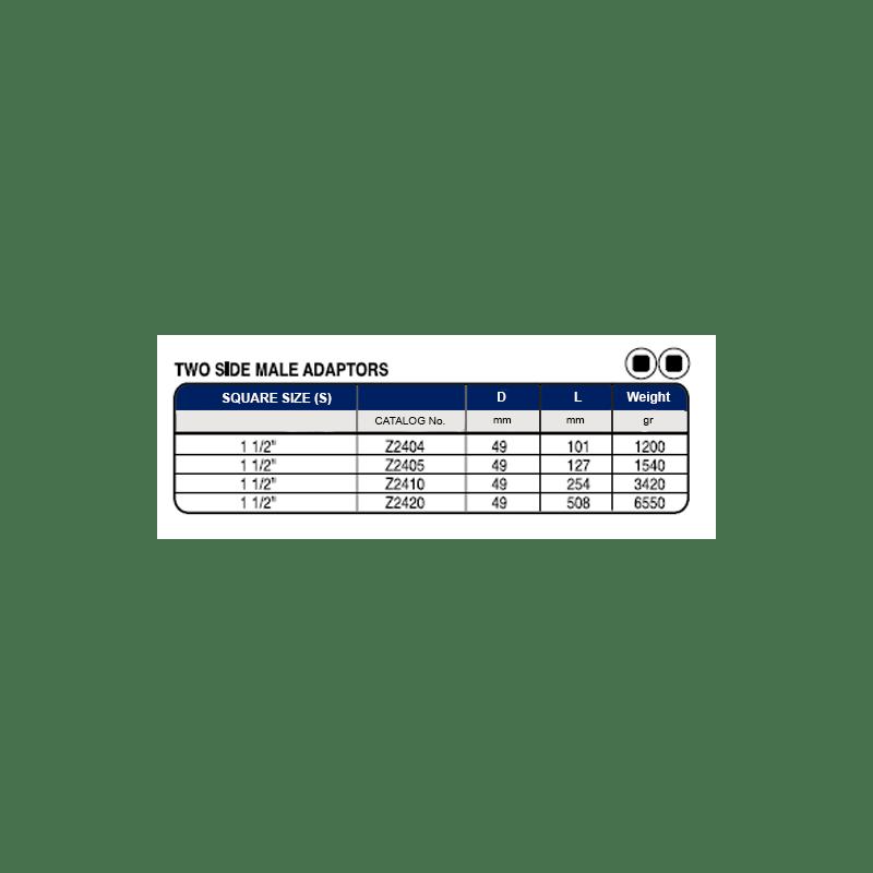 TABELLA 1 1 2 SQ DRIVE TWO SIDE MALE ADAPTORS 1 Avvitatori per assemblaggio industriale La miglior qualità di una bussola per avvitatura è riscontrabile dalla capacità di sopportare il maggior numero di colpi ad impatto generati dagli utensili, dalla precisione con cui avviene l'accoppiamento tra l'albero di uscita dell'avvitatore ed il drive ( attacco quadro) della bussola e dalla qualità del materiale in cui la bussola viene realizzata. Le bussole OZAT di Airtechnology sono inoltre realizzate con speciali lavorazioni che combinano le tradizionali elettroerosioni in uno speciale bagno chimico .Tale procedimento conferisce alle bussole caratteristiche di resistenza all'usura e robustezza all'utilizzo uniche nel mercato.