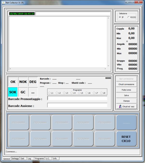 1 1  Avvitatori per assemblaggio industriale Net Collector è il software per la gestione della tracciabilità dei dati serraggio nel processo produttivo.