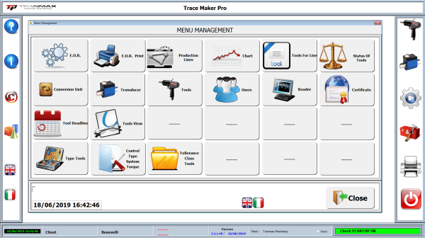 2 3 Avvitatori per assemblaggio industriale Software for the qualitative tool management