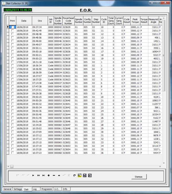 3 1  Avvitatori per assemblaggio industriale Net Collector è il software per la gestione della tracciabilità dei dati serraggio nel processo produttivo.