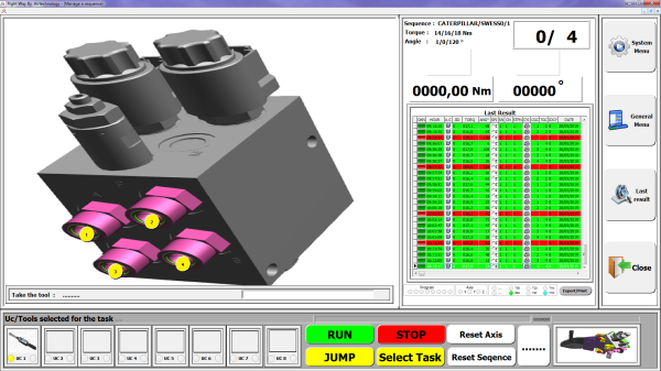 3 2 Avvitatori per assemblaggio industriale Software for guided driving of the tightening process