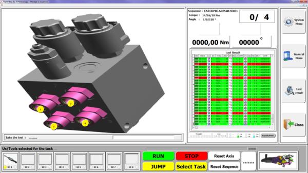 3 2  Avvitatori per assemblaggio industriale Software for guided driving of the tightening process