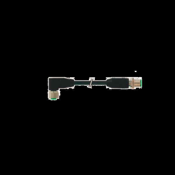 3 5  Avvitatori per assemblaggio industriale Il Cavo di connessione Manopole a gestione elettrica e elettronica è un cavo di connessione M12 12 pin ed è utilizzabile per le manopole T-series e E-series.