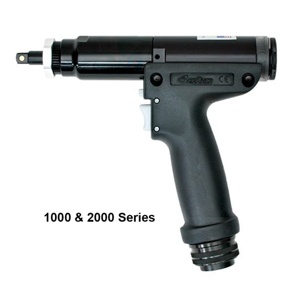 AEP4A Model 1 Avvitatori per assemblaggio industriale <p>The 1000, 2000, 5000 series pistol tools are the perfect solution for horizontal mounting applications. Available with lower, upper or rear connection cables and multi-function buttons for increased flexibility. The tool body and design offer a comfortable grip and an ergonomically positioned start lever for simple tool control.</p>