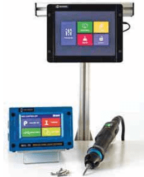 IMMAGINE 2 TPM Display Avvitatori per assemblaggio industriale TPM (Torque Process Monitoring) Touch Screen This touch screen can be used for data collection, programming the MDC or ADC controller as well as monitoring the fastening process.