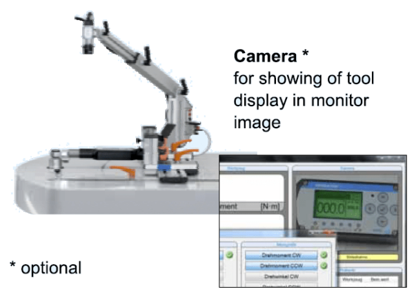 IMMAGINE 3 OPTIONAL DPWM 1000  Avvitatori per assemblaggio industriale The DWPM-1000 certification and test bench is the first fully automatic bench to test and calibrate torque wrenches for torque control and torque and angle electronic torque wrenches.