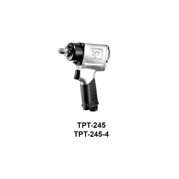 TPT 245  Avvitatori per assemblaggio industriale The use of the latest technologies and materials, such as the composite material or aluminum structure, and the high power capacity make the impact tools of the TPT professional power tools series the best in every class. Our versatile line offers different torque transmission technologies, from the classic mono and double hammer, to the docking dog system to the latest patented Machoneer system capable of transmitting the highest power on the market today with a noise level of only 85 Dba for use in accordance with of law even in closed environments