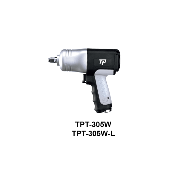 TPT 305 W  Avvitatori per assemblaggio industriale The use of the latest technologies and materials, such as the composite material or aluminum structure, and the high power capacity make the impact tools of the TPT professional power tools series the best in every class. Our versatile line offers different torque transmission technologies, from the classic mono and double hammer, to the docking dog system to the latest patented Machoneer system capable of transmitting the highest power on the market today with a noise level of only 85 Dba for use in accordance with of law even in closed environments