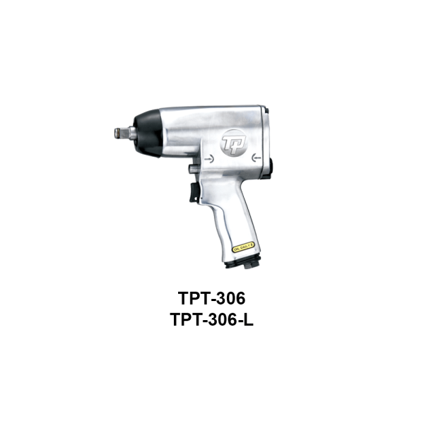 TPT 306  Avvitatori per assemblaggio industriale The use of the latest technologies and materials, such as the composite material or aluminum structure, and the high power capacity make the impact tools of the TPT professional power tools series the best in every class. Our versatile line offers different torque transmission technologies, from the classic mono and double hammer, to the docking dog system to the latest patented Machoneer system capable of transmitting the highest power on the market today with a noise level of only 85 Dba for use in accordance with of law even in closed environments