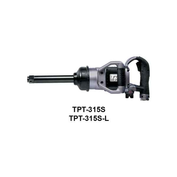 "TPT 315S 1 Avvitatori per assemblaggio industriale The use of the latest technologies and materials, such as the composite material or aluminum structure, and the high power capacity make the impact tools of the TPT professional power tools series the best in every class. Our versatile line offers different torque transmission technologies, from the classic mono and double hammer, to the docking dog system to the latest patented Machoneer system capable of transmitting the highest power on the market today with a noise level of only 85 Dba for use in accordance with of law even in closed environments A complete range of tools from 3/8 ""to 1"" -1/2 both in aluminum and in composite material, offer a wide choice of use and versatility of use"