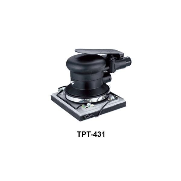 TPT 431 Avvitatori per assemblaggio industriale Le Levigatrici Palmari sono strumenti progettati per far pronte a qualsiasi esigenza nel campo della finitura delle superfici, tutti gli strumenti della gamma per finitura sono progettati per offrire maggiore confort per l'utilizzatore e massima affidabilità nel tempo. Tranmax offre una gamma completa di utensili per la levigatura e la lucidatura delle superfici, di piccole o grandi dimensioni, sia per finitura che per la sgrossatura: Levigatrici Rotorbitali con platorello da 75mm, 125mm e 150mm, Levigatrici palmari, Carteggiatrici per fogli abrasivi, Mini-Levigatrici e Pulitrici Orbitali e Rotorbitali, Levigatrici a nastro, Levigatrici e Lucidatrici Angolari