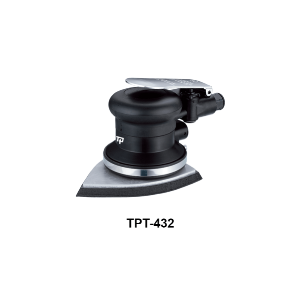 TPT 432 Avvitatori per assemblaggio industriale Le Levigatrici Palmari sono strumenti progettati per far pronte a qualsiasi esigenza nel campo della finitura delle superfici, tutti gli strumenti della gamma per finitura sono progettati per offrire maggiore confort per l'utilizzatore e massima affidabilità nel tempo. Tranmax offre una gamma completa di utensili per la levigatura e la lucidatura delle superfici, di piccole o grandi dimensioni, sia per finitura che per la sgrossatura: Levigatrici Rotorbitali con platorello da 75mm, 125mm e 150mm, Levigatrici palmari, Carteggiatrici per fogli abrasivi, Mini-Levigatrici e Pulitrici Orbitali e Rotorbitali, Levigatrici a nastro, Levigatrici e Lucidatrici Angolari