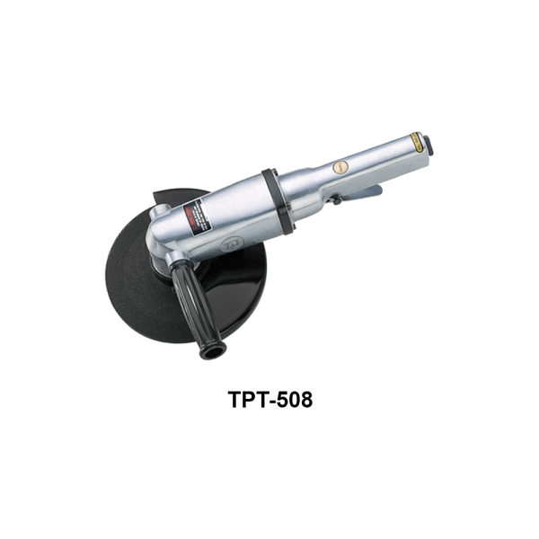 TPT 508 Avvitatori per assemblaggio industriale The TP series grinders offer maximum yield during material removal with minimum effort. The TP series grinders are robust, durable and light, easy to handle. The range covers pencil grinders and many straight grinders and angle grinders (from 50 mm up to 180 mm ), Particularly proud it covers the new series of high-power industrial grinders (1-1.5 HP ) available in all versions