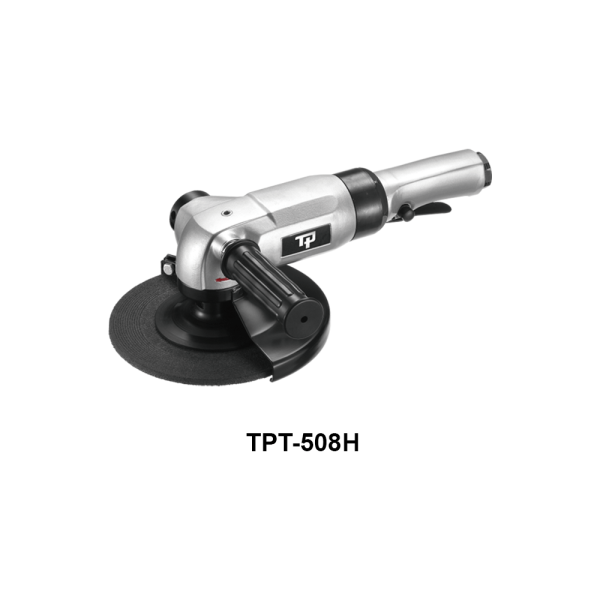 TPT 508H Avvitatori per assemblaggio industriale The TP series grinders offer maximum yield during material removal with minimum effort. The TP series grinders are robust, durable and light, easy to handle. The range covers pencil grinders and many straight grinders and angle grinders (from 50 mm up to 180 mm ), Particularly proud it covers the new series of high-power industrial grinders (1-1.5 HP ) available in all versions