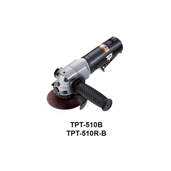 TPT 510 1 Avvitatori per assemblaggio industriale The TP series grinders offer maximum yield during material removal with minimum effort. The TP series grinders are robust, durable and light, easy to handle. The range covers pencil grinders and many straight grinders and angle grinders (from 50 mm up to 180 mm ), Particularly proud it covers the new series of high-power industrial grinders (1-1.5 HP ) available in all versions