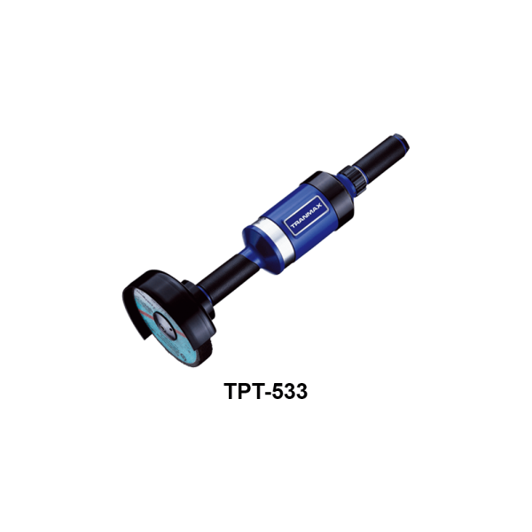 TPT 533 Avvitatori per assemblaggio industriale The TP series grinders offer maximum yield during material removal with minimum effort. The TP series grinders are robust, durable and light, easy to handle. The range covers pencil grinders and many straight grinders and angle grinders (from 50 mm up to 180 mm ), Particularly proud it covers the new series of high-power industrial grinders (1-1.5 HP ) available in all versions