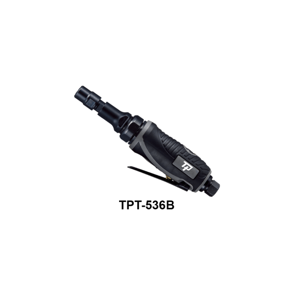 TPT 536B Avvitatori per assemblaggio industriale The TP series grinders offer maximum yield during material removal with minimum effort. The TP series grinders are robust, durable and light, easy to handle. The range covers pencil grinders and many straight grinders and angle grinders (from 50 mm up to 180 mm ), Particularly proud it covers the new series of high-power industrial grinders (1-1.5 HP ) available in all versions