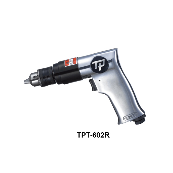 """TPT 602R Avvitatori per assemblaggio industriale With drilling capacity from 6mm (1/4"""") to 13mm (1/2""""), various speeds and power, TP drills are designed to handle both your tough and smooth operations. The range provides straight, angle a"""