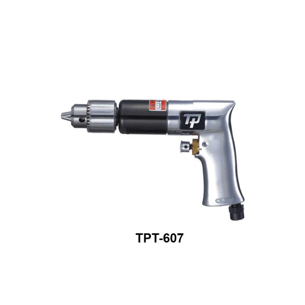 TPT 607 Avvitatori per assemblaggio industriale I trapani pneumatici serie TPT sono progettati e costruiti per garantire massima produttività e maneggevolezza grazie al favorevole rapporto potenza/peso.