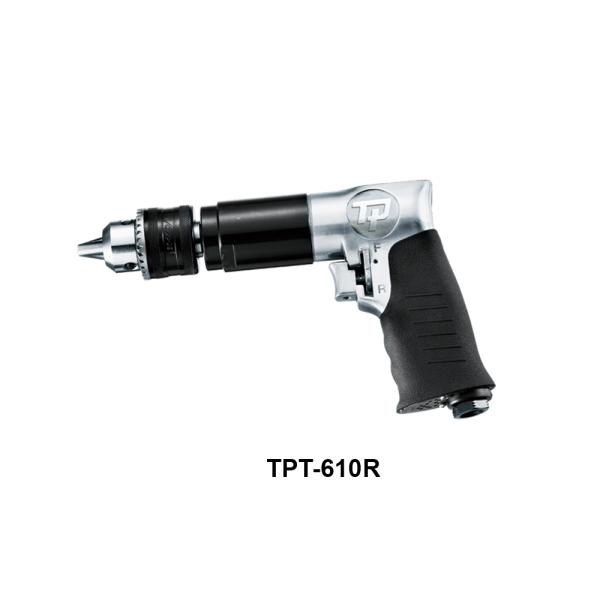 TPT 610R Avvitatori per assemblaggio industriale I trapani pneumatici serie TPT sono progettati e costruiti per garantire massima produttività e maneggevolezza grazie al favorevole rapporto potenza/peso.