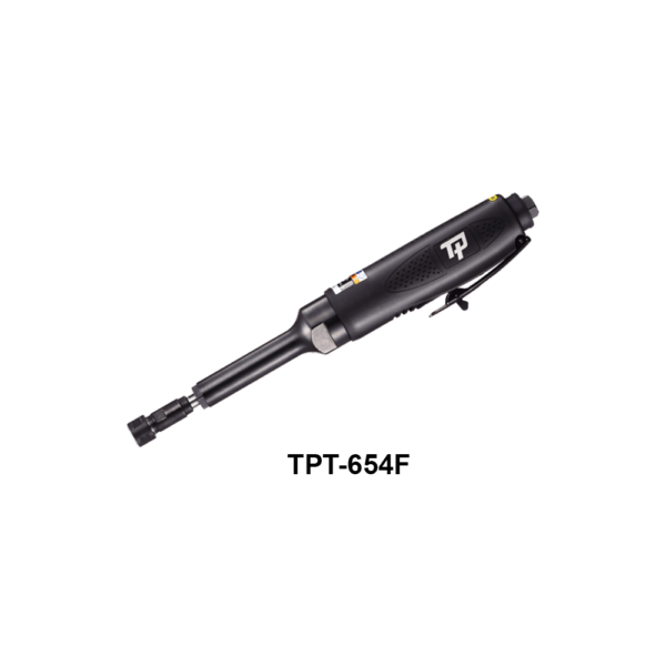 TPT 654F 2 Avvitatori per assemblaggio industriale The TP series grinders offer maximum yield during material removal with minimum effort. The TP series grinders are robust, durable and light, easy to handle. The range covers pencil grinders and many straight grinders and angle grinders (from 50 mm up to 180 mm ), Particularly proud it covers the new series of high-power industrial grinders (1-1.5 HP ) available in all versions