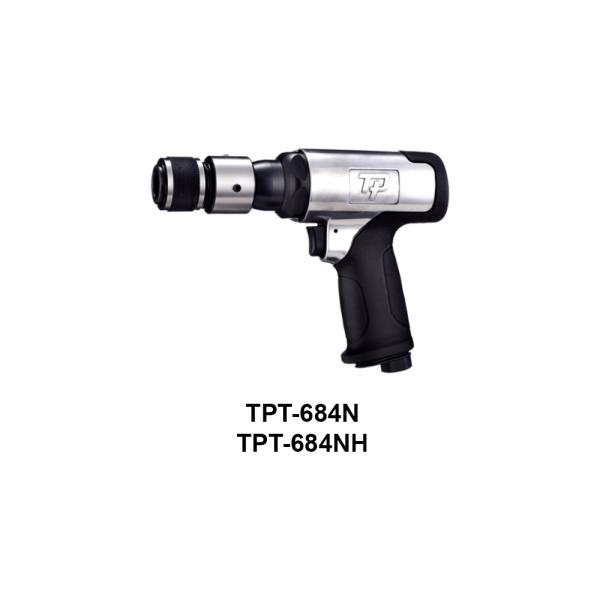 TPT 684  Avvitatori per assemblaggio industriale I martelli pneumatici sono utensili con una speciale combinazione di potenza, compattezza e leggerezza, costruiti per resistere ai lavori più impegnativi e più difficili.  ATTENZIONE:I modelli TPT-930,TPT-930H,TPT-931,TPT-931H,TPT-932,TPT-932H non sono al momento disponibili.