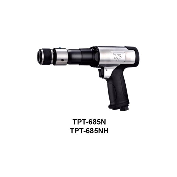 TPT 685  Avvitatori per assemblaggio industriale I martelli pneumatici sono utensili con una speciale combinazione di potenza, compattezza e leggerezza, costruiti per resistere ai lavori più impegnativi e più difficili.  ATTENZIONE:I modelli TPT-930,TPT-930H,TPT-931,TPT-931H,TPT-932,TPT-932H non sono al momento disponibili.