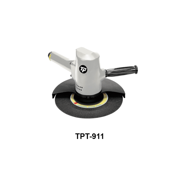 TPT 911 Avvitatori per assemblaggio industriale The TP series grinders offer maximum yield during material removal with minimum effort. The TP series grinders are robust, durable and light, easy to handle. The range covers pencil grinders and many straight grinders and angle grinders (from 50 mm up to 180 mm ), Particularly proud it covers the new series of high-power industrial grinders (1-1.5 HP ) available in all versions