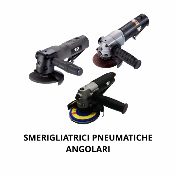 TRANMAX TPT SMERIGLIATRICI ANGOLARI COPERTINA Avvitatori per assemblaggio industriale The TP series grinders offer maximum yield during material removal with minimum effort. The TP series grinders are robust, durable and light, easy to handle. The range covers pencil grinders and many straight grinders and angle grinders (from 50 mm up to 180 mm ), Particularly proud it covers the new series of high-power industrial grinders (1-1.5 HP ) available in all versions