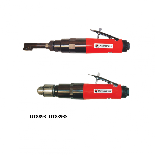 UT8893 UT8893S 1 Avvitatori per assemblaggio industriale The execution accuracy guarantees 600,000 cycles of use of the UT drills for the Aerospace sector The internal silencer deflector reduces the noise level to 75 dBA Interchangeable gear box and the advanced ergonomic handle with insulating coating for maximum operator comfort
