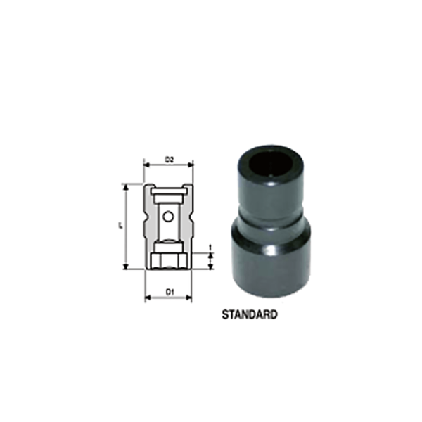 IMMAGINE 1 2 SQ DRIVE LOV LOSS OF VIBRATIONIMPACT SOCKETS STANDARD 1  Avvitatori per assemblaggio industriale The best quality of a screwing compass can be found in the ability to withstand the greatest number of impact blows generated by the tools, by the precision with which the coupling between the exit shaft of the screwdriver and the drive (square drive) of the compass and the quality of the material in which the compass is made. The OZAT compasses by Airtechnology are made with special processes that combine the traditional electroerosions in a special chemical bath. This process gives the bushes characteristics of resistance to wear and strength to use unique in the market.