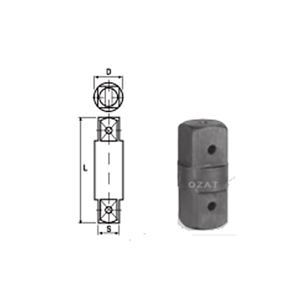 IMMAGINE 2 1 2 SQ DRIVE TWO SIDE MALE ADAPTORS 1 Avvitatori per assemblaggio industriale The best quality of a screwing compass can be found in the ability to withstand the greatest number of impact blows generated by the tools, by the precision with which the coupling between the exit shaft of the screwdriver and the drive (square drive) of the compass and the quality of the material in which the compass is made. The OZAT compasses by Airtechnology are made with special processes that combine the traditional electroerosions in a special chemical bath. This process gives the bushes characteristics of resistance to wear and strength to use unique in the market.