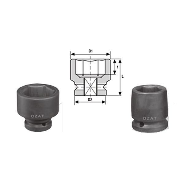 IMMAGINE 3 1 2 SQ DRIVE 6 POINT SOCKETS REGULAR LENGTH 1 Avvitatori per assemblaggio industriale The best quality of a screwing compass can be found in the ability to withstand the greatest number of impact blows generated by the tools, by the precision with which the coupling between the exit shaft of the screwdriver and the drive (square drive) of the compass and the quality of the material in which the compass is made. The OZAT compasses by Airtechnology are made with special processes that combine the traditional electroerosions in a special chemical bath. This process gives the bushes characteristics of resistance to wear and strength to use unique in the market.