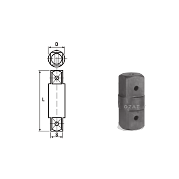 IMMAGINE 3 1 2 SQ DRIVE TWO SIDE MALE ADAPTORS 1  Avvitatori per assemblaggio industriale The best quality of a screwing compass can be found in the ability to withstand the greatest number of impact blows generated by the tools, by the precision with which the coupling between the exit shaft of the screwdriver and the drive (square drive) of the compass and the quality of the material in which the compass is made.