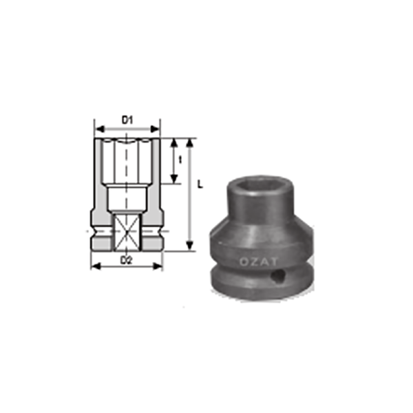 IMMAGINE 3 4 SQ DRIVE 6 POINT THIN WALL IMPACT SOCKETS REGULAR LENGTH 1 Avvitatori per assemblaggio industriale The best quality of a screwing compass can be found in the ability to withstand the greatest number of impact blows generated by the tools, by the precision with which the coupling between the exit shaft of the screwdriver and the drive (square drive) of the compass and the quality of the material in which the compass is made. The OZAT compasses by Airtechnology are made with special processes that combine the traditional electroerosions in a special chemical bath. This process gives the bushes characteristics of resistance to wear and strength to use unique in the market.
