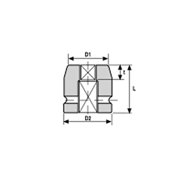 IMMAGINE 3 4 SQ DRIVE BUD WHEELS IMPACT SOCKETS 1 Avvitatori per assemblaggio industriale La miglior qualità di una bussola per avvitatura è riscontrabile dalla capacità di sopportare il maggior numero di colpi ad impatto generati dagli utensili, dalla precisione con cui avviene l'accoppiamento tra l'albero di uscita dell'avvitatore ed il drive ( attacco quadro) della bussola e dalla qualità del materiale in cui la bussola viene realizzata. Le bussole OZAT di Airtechnology sono inoltre realizzate con speciali lavorazioni che combinano le tradizionali elettroerosioni in uno speciale bagno chimico .Tale procedimento conferisce alle bussole caratteristiche di resistenza all'usura e robustezza all'utilizzo uniche nel mercato.
