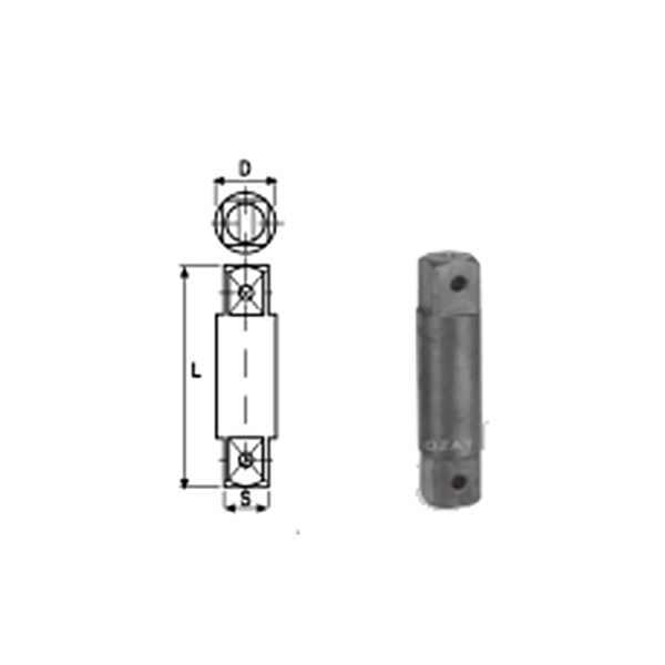 IMMAGINE 3 4 SQ DRIVE TWO SIDE MALE ADAPTORS 1  Avvitatori per assemblaggio industriale The best quality of a screwing compass can be found in the ability to withstand the greatest number of impact blows generated by the tools, by the precision with which the coupling between the exit shaft of the screwdriver and the drive (square drive) of the compass and the quality of the material in which the compass is made. The OZAT compasses by Airtechnology are made with special processes that combine the traditional electroerosions in a special chemical bath. This process gives the bushes characteristics of resistance to wear and strength to use unique in the market.