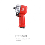 TPT 2224 Avvitatore ad impatto dritto da 1 2 compatto Avvitatori per assemblaggio industriale Gli avvitatori ad impatto MECHONEER si suddividono per attacco e per potenza nelle seguenti 5 famiglie di prodotti: