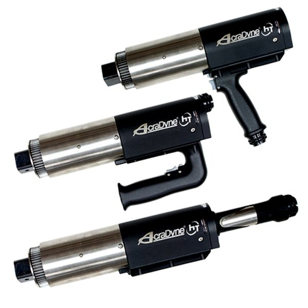 ht dc 3 tools 1  Avvitatori per assemblaggio industriale Critical bolting requires tools that offer high torque with superior performance. The AcraDyne HT series combines these features in a high-torque electrical clamping tool that beats the competition in terms of precision, speed and safety. In combination with the AcraDyne controller, customers have a high-torque critical bolting system that can handle the most difficult and important bolting jobs.
