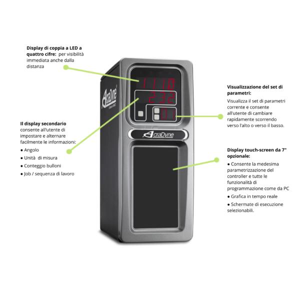 Controllore per avvitatori elettronici Acraadyne
