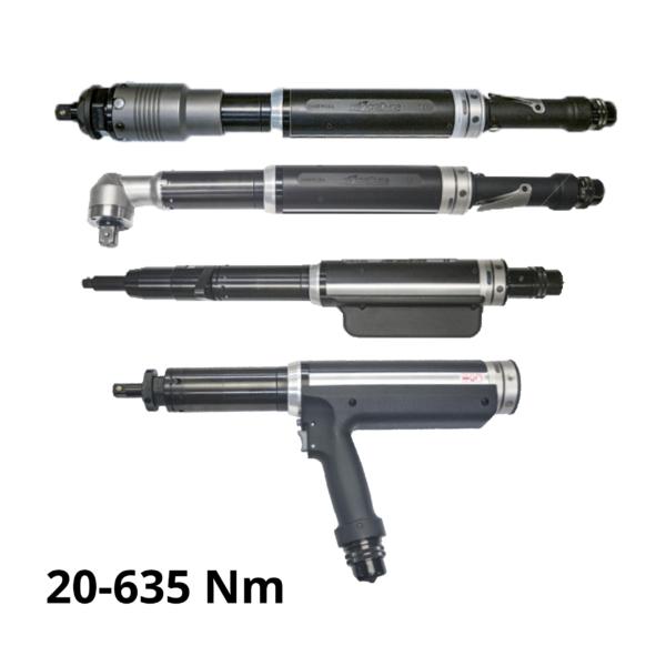 serie 5000 copertina 3  Avvitatori per assemblaggio industriale Gli avvitatori elettronici serie 5000 di AcraDyne sono lo strumento ideale per piccole e medie coppie di serraggio (intervallo di coppia da 20 a 635 Nm).