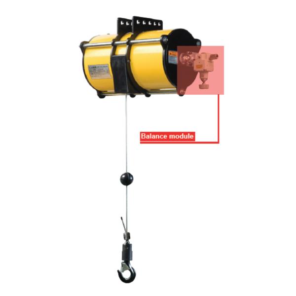 ENDO AIR BALANCER BC1 immagine 2 Avvitatori per assemblaggio industriale I bilanciatori ad aria ENDO sono il sistema ideale per le movimentazioni ergonomiche all'interno di una linea produttiva. I bilanciatori ad aria sono utilizzati principalmente per le operazioni di pick&place e posizionamento, e consentono l'annullamento del carico movimentato rendendo le operazioni di spostamento più facili ed agevoli per gli operatori. Il basso consumo di aria durante l'utilizzo rende inoltre il sistema ENDO il più efficiente e a basso impatto ambientale nella categoria.