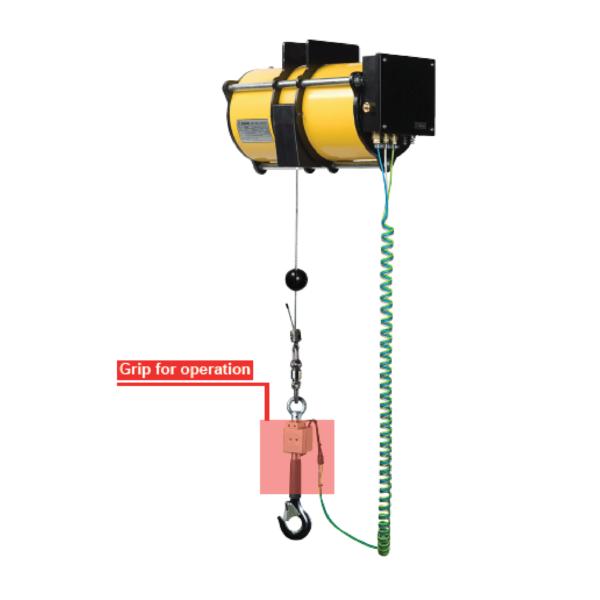ENDO AIR BALANCER MS AG immagine 2 Avvitatori per assemblaggio industriale I bilanciatori ad aria ENDO sono il sistema ideale per le movimentazioni ergonomiche all'interno di una linea produttiva. I bilanciatori ad aria sono utilizzati principalmente per le operazioni di pick&place e posizionamento, e consentono l'annullamento del carico movimentato rendendo le operazioni di spostamento più facili ed agevoli per gli operatori. Il basso consumo di aria durante l'utilizzo rende inoltre il sistema ENDO il più efficiente e a basso impatto ambientale nella categoria.