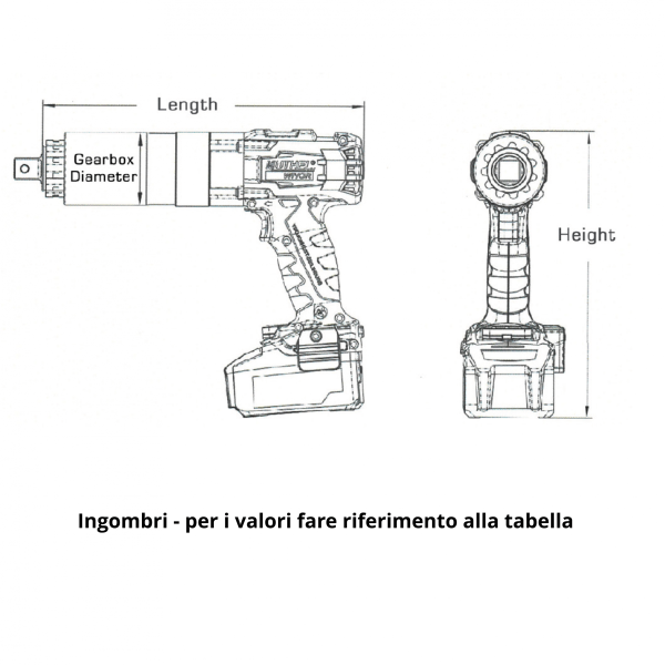 IMMAGINI AVVITATORE ALTA COPPIA IMMAGINE 3 Avvitatori per assemblaggio industriale Gli avvitatori alta coppia A BATTERIA serie XT di AcraDyne rappresentano lo strumento ideale per tutte le operazioni di bullonatura in cui sia richiesta flessibilità, maneggevolezza e funzionamento ininterrotto. Gli avvitatori alta coppia A BATTERIA serie XT di AcraDyne sono disponibili con un range di coppia che varia da 100 a 4450 Nm. Per range di coppia superiori a 4450 Nm fare riferimento al tradizionale sistema di avvitatura a filo serie HT per una gestione elettronica del serraggio (è disponibile anche il sistema ibrido con Controller portatile e avvitatore a filo) oppure fare riferimento agli avvitatori pneumatici alta coppia.